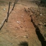 Newton Orphanage foundation lines