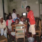 Street children in a home