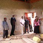 Inspecting construction in Burundi