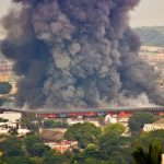 Central market fire in Bujumbura